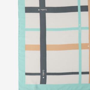 carlorino scarf 31S02 G001 26 2 - Iconic Stripes Long Silk Scarf