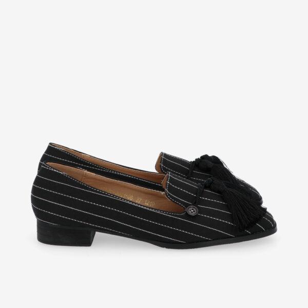 "carlorino shoe 33320 J001 08 2 - 1"" Suri In Stripes Loafers"