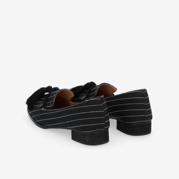 "carlorino shoe 33320 J001 08 4 - 1"" Suri In Stripes Loafers"
