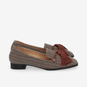 "carlorino shoe 33320 J001 55 2 - 1"" Suri In Stripes Loafers"