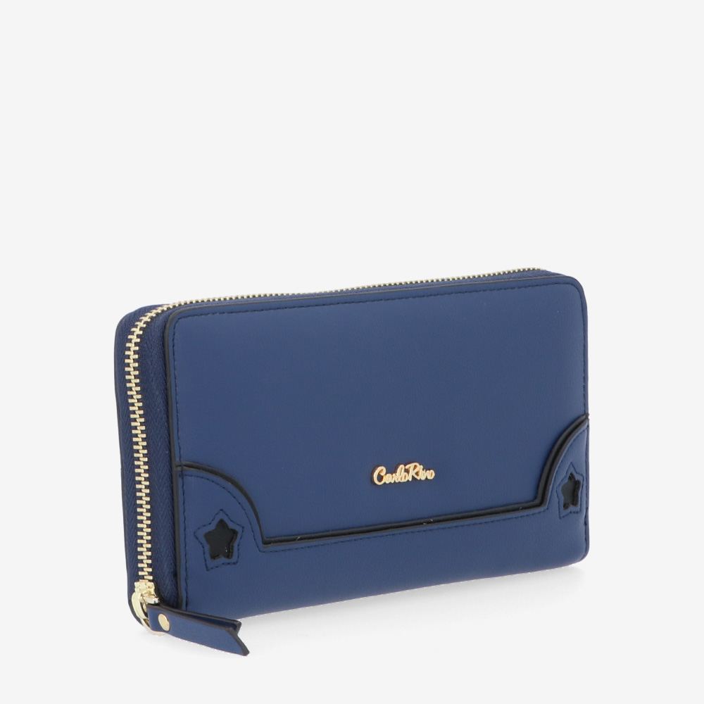 carlorino wallet 0304747H 501 13 3 - Wish On A Star Zip-around Wallet