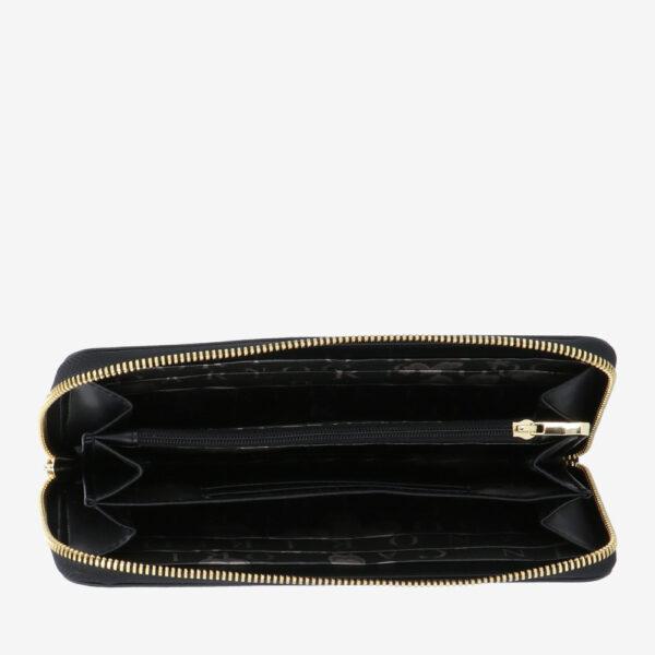 carlorino wallet 0304794H 503 08 4 - Queen of Hearts Zip-around Wallet