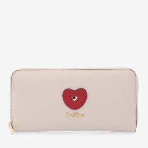 carlorino wallet 0304794H 503 21 1 - Queen of Hearts Zip-around Wallet