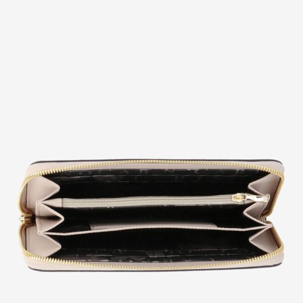 carlorino wallet 0304794H 503 21 4 - Queen of Hearts Zip-around Wallet