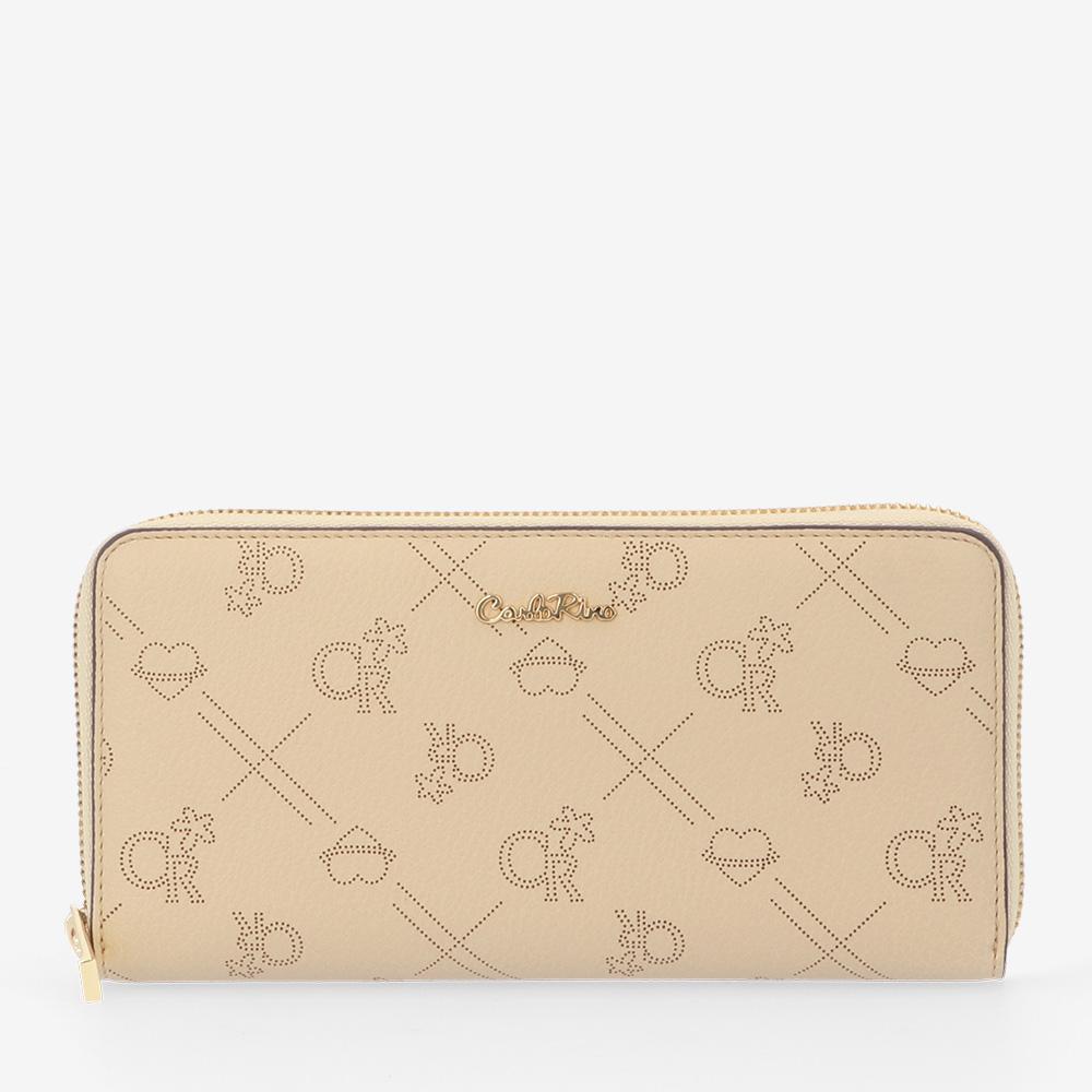 carlorino wallet 0305010H 502 31 1 - Love Struck Monogram Zip-around Wallet