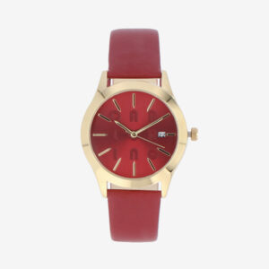 carlorino watch A93301 H002 14 1 - On The Dot Leather Strap Timepiece