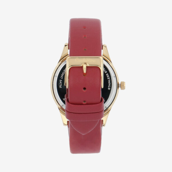 carlorino watch A93301 H002 14 3 - On The Dot Leather Strap Timepiece