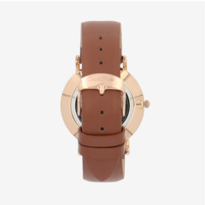 carlorino watch A93302 H001 15 3 - Good Times Leather Strap Timepiece