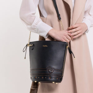 0304798G 001 08 300x300 - Lucky Star Stitch Detail Bucket Bag