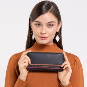 0304932G 502 08 300x300 - Amber Charmer Studded Zip-around Wallet