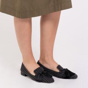 "33320 J001 08 - 1"" Suri In Stripes Loafers"