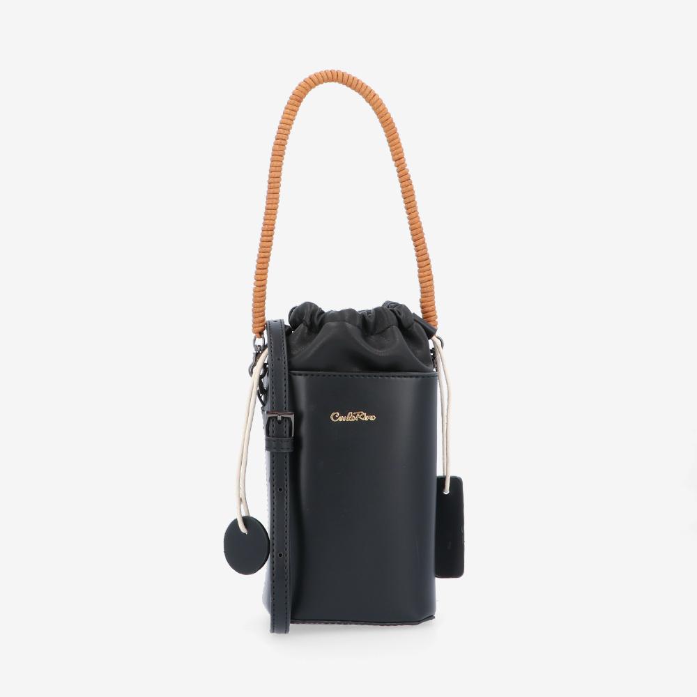 carlorino bag 0305020H 001 08 1 - Pull It Off Drawstring Bucket Bag
