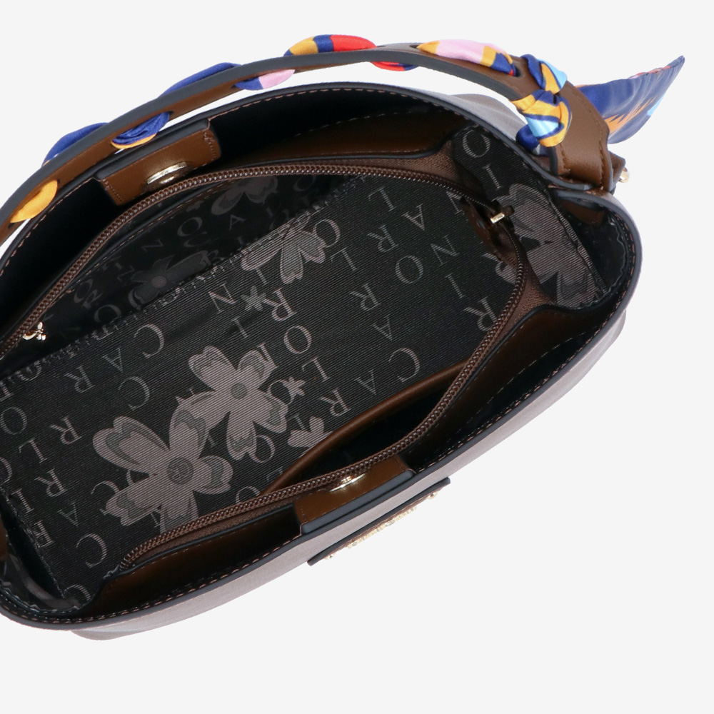 carlorino bag 0305023J 001 32 4 - Swanky Twilly Top Handle