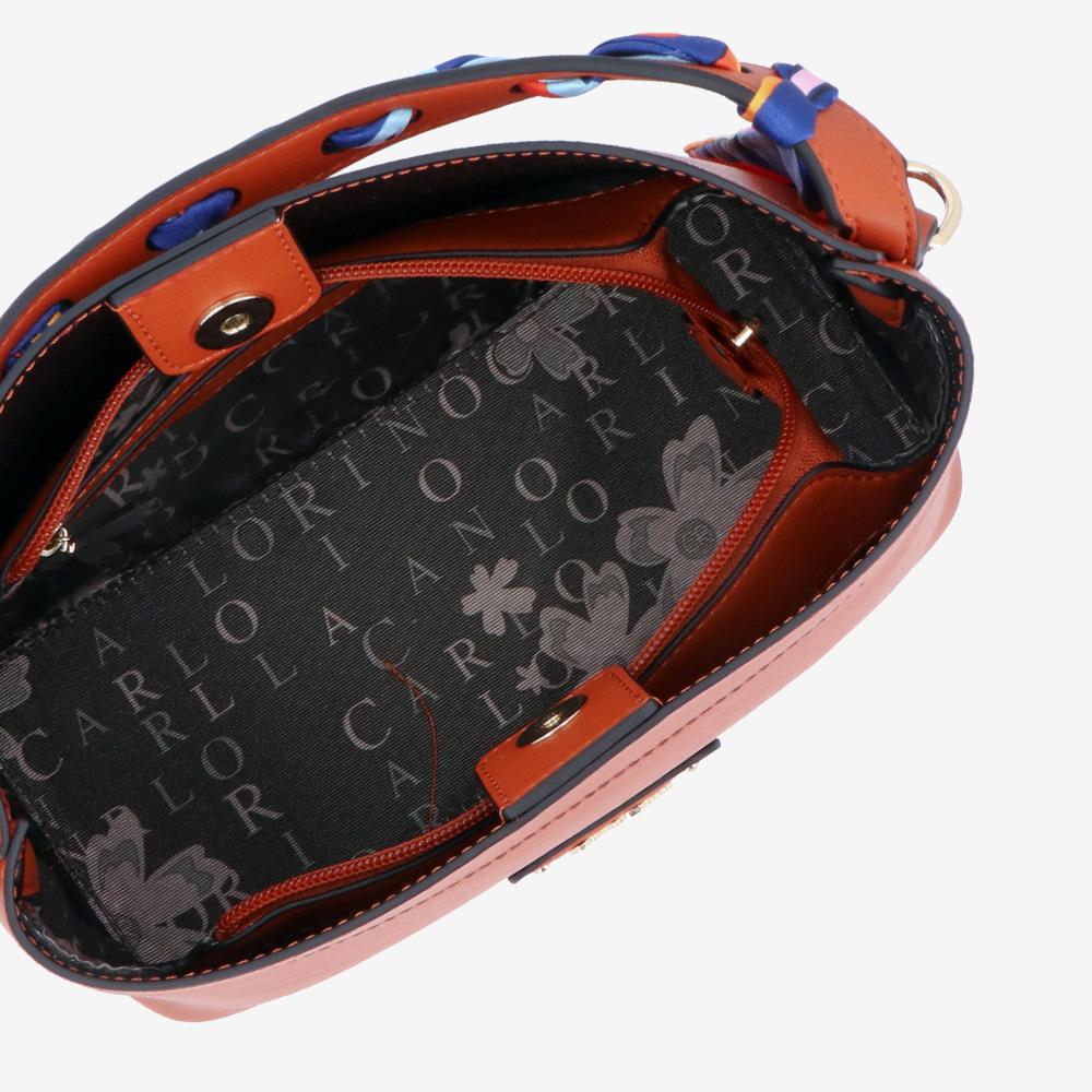 carlorino bag 0305023J 001 35 4 - Swanky Twilly Top Handle