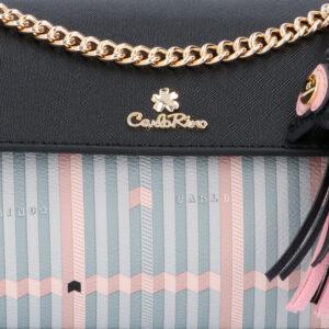 carlorino bag 0305028J 001 08 5 - Miss Snowball Oblong Cross Body