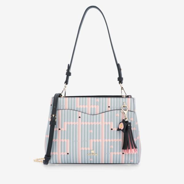 carlorino bag 0305028J 004 08 1 600x600 - Miss Snowball Shoulder Bag