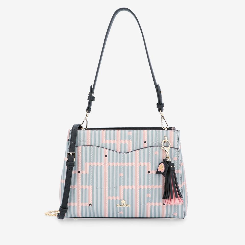 carlorino bag 0305028J 004 08 1 - Miss Snowball Shoulder Bag