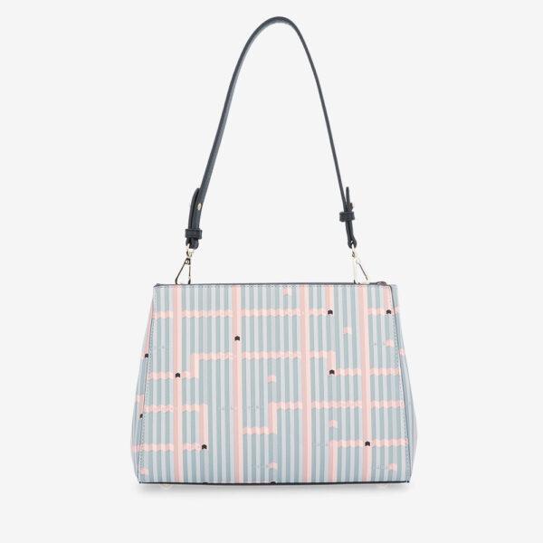carlorino bag 0305028J 004 08 2 600x600 - Miss Snowball Shoulder Bag