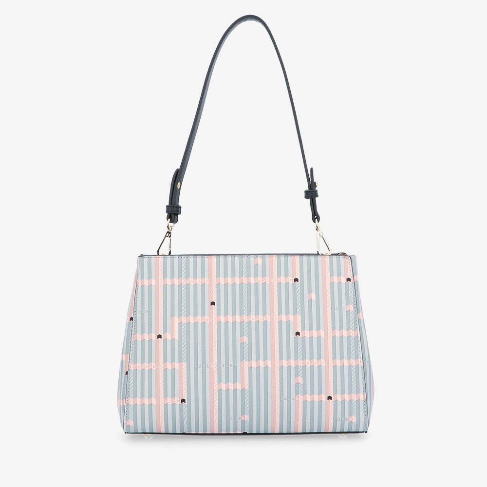 carlorino bag 0305028J 004 08 2 - Miss Snowball Shoulder Bag