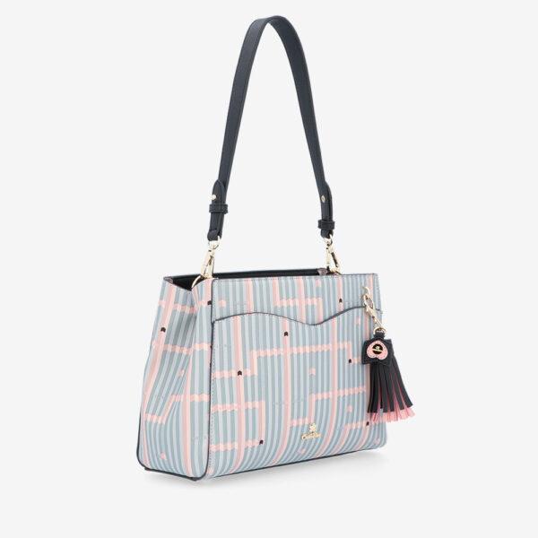 carlorino bag 0305028J 004 08 3 600x600 - Miss Snowball Shoulder Bag