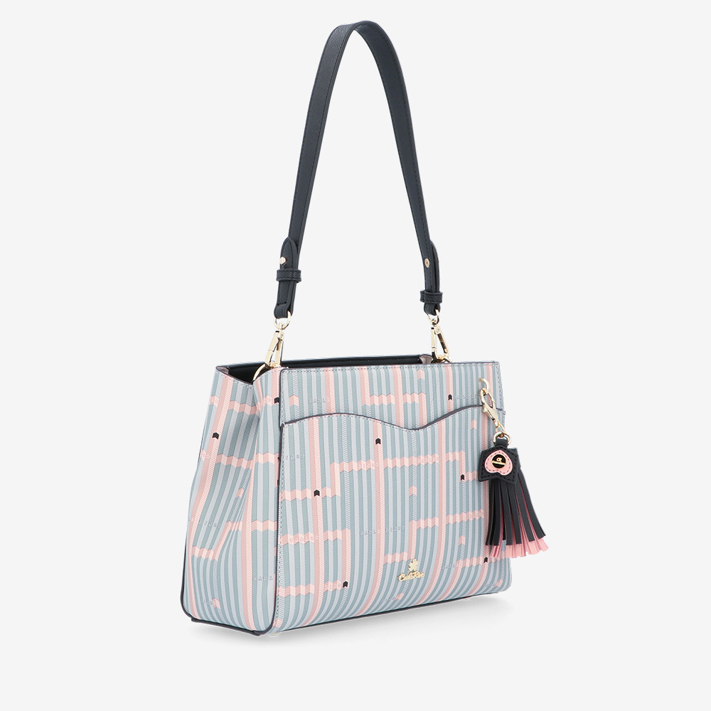 carlorino bag 0305028J 004 08 3 - Miss Snowball Shoulder Bag