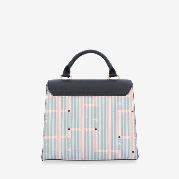 carlorino bag 0305028J 007 08 2 600x600 - Miss Snowball Top Handle with Flap