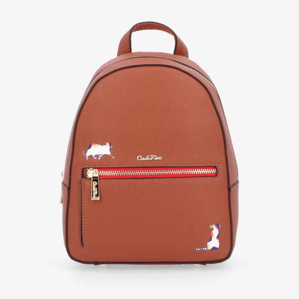 carlorino bag 0305030J 001 05 1 - Easy Kitty Backpack