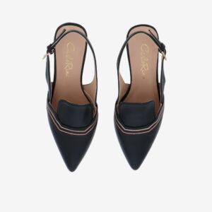 "carlorino shoe 33310 J001 08 3 - 2.5"" Stop and Stare Pumps"