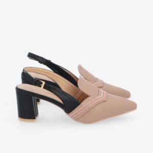 "carlorino shoe 33310 J001 31 2 - 2.5"" Stop and Stare Pumps"