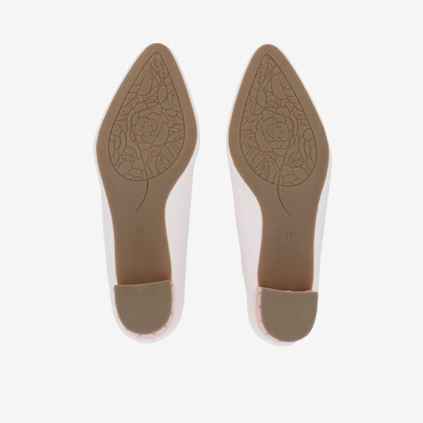 "carlorino shoe 33310 J004 01 5 - 1.5"" Honey Bunny Studded Pumps"