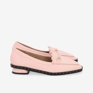 carlorino shoe 33330 J004 24 2 - Honey Bunny Studded Loafers