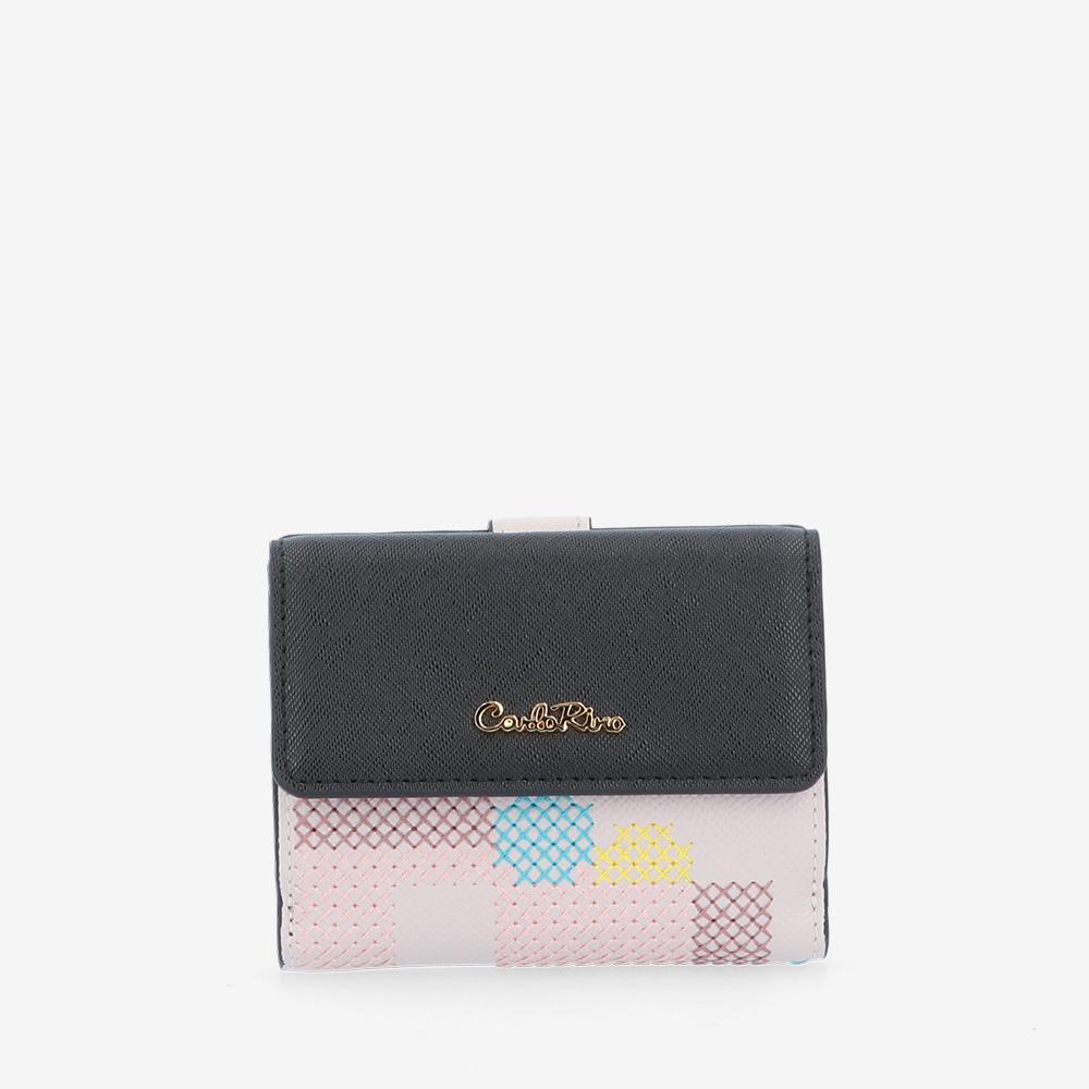 carlorino wallet 0305026J 501 21 1 - Hues That Gal 2-fold Wallet