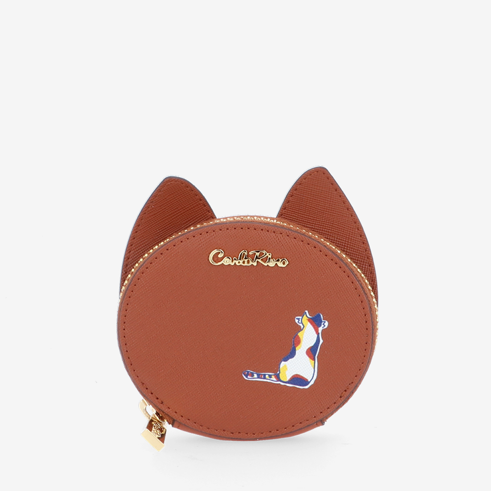 carlorino wallet 0305030J 701 05 1 - Easy Kitty Coin Pouch