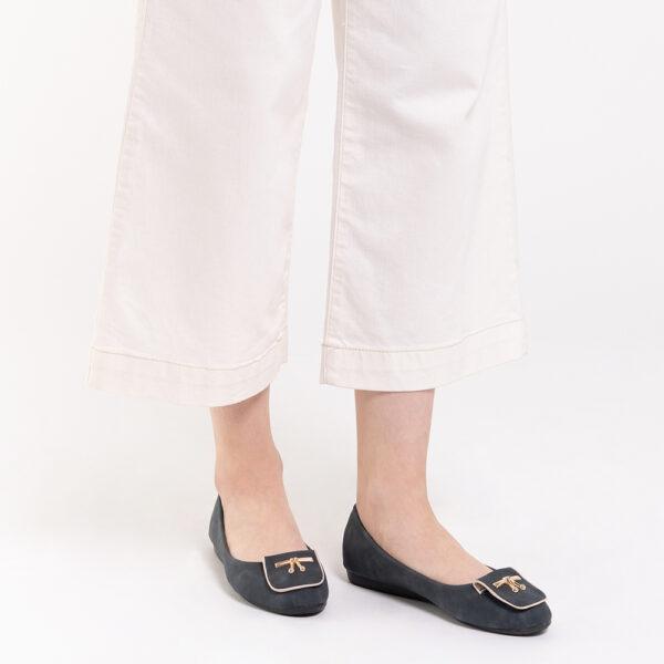 33320 J008 08 - Twinkle Toes Suede Ballerina