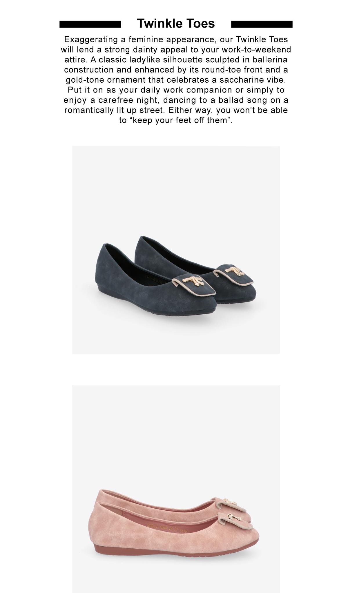 33320 J008 2 - Twinkle Toes Suede Ballerina