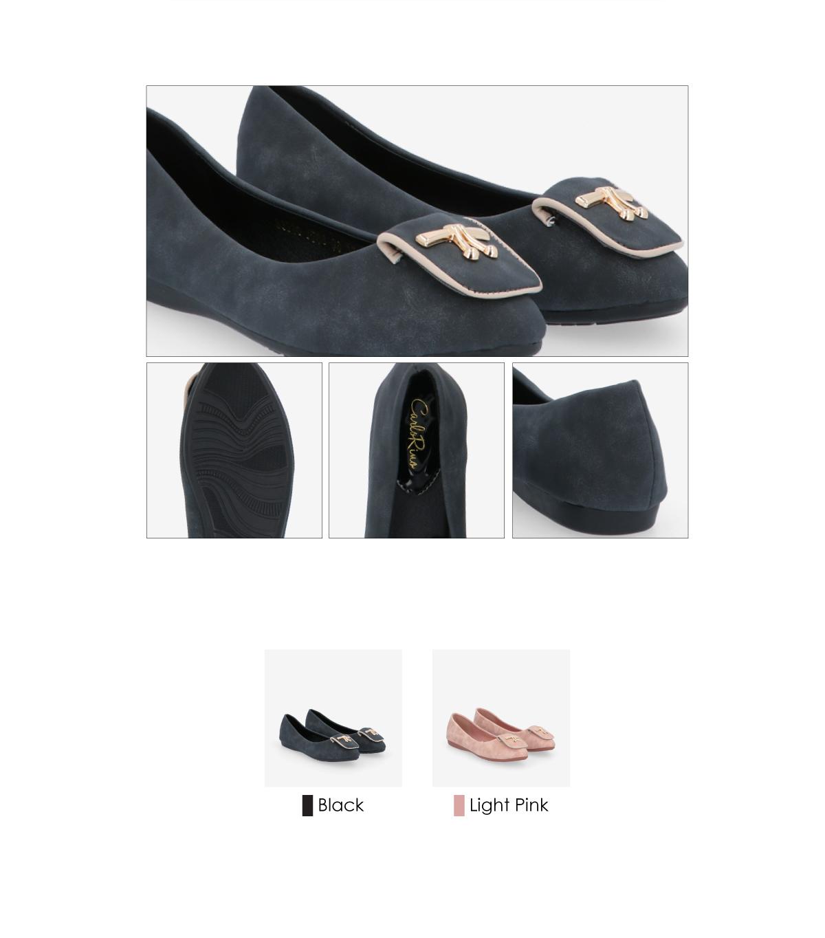 33320 J008 3 - Twinkle Toes Suede Ballerina