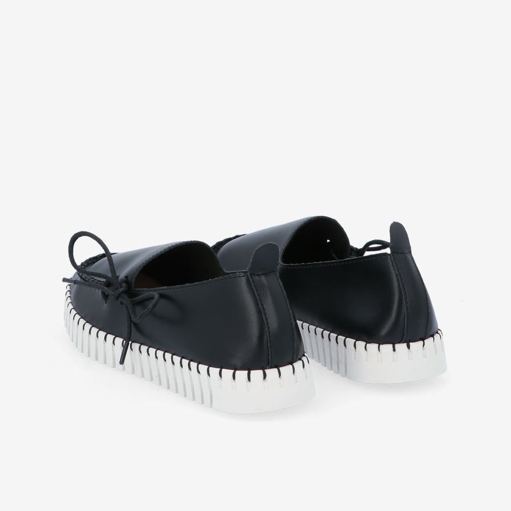 carlorino shoe 33320 J003 08 4 - Ribbon Enhancer Flat