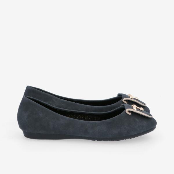 carlorino shoe 33320 J008 08 2 - Twinkle Toes Suede Ballerina