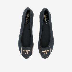 carlorino shoe 33320 J008 08 3 - Twinkle Toes Suede Ballerina