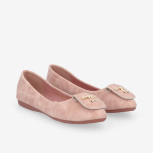 carlorino shoe 33320 J008 34 1 - Twinkle Toes Suede Ballerina