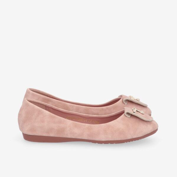 carlorino shoe 33320 J008 34 2 - Twinkle Toes Suede Ballerina