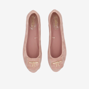 carlorino shoe 33320 J008 34 3 - Twinkle Toes Suede Ballerina