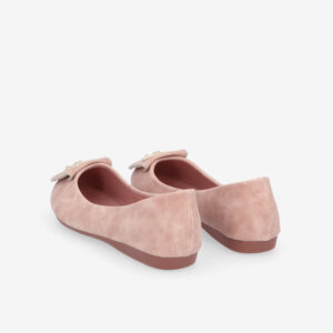 carlorino shoe 33320 J008 34 4 - Twinkle Toes Suede Ballerina