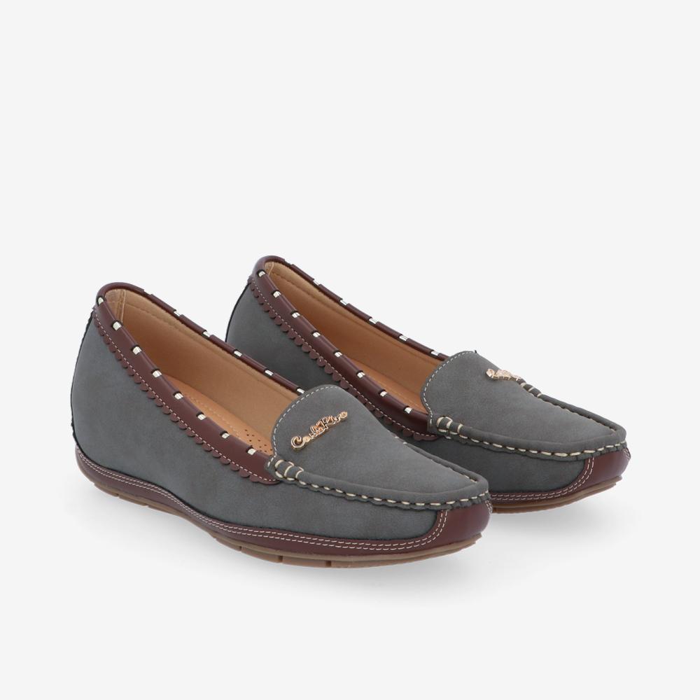 "carlorino shoe 33330 J006 18 1 - 1"" At Ease Heeled Loafers"