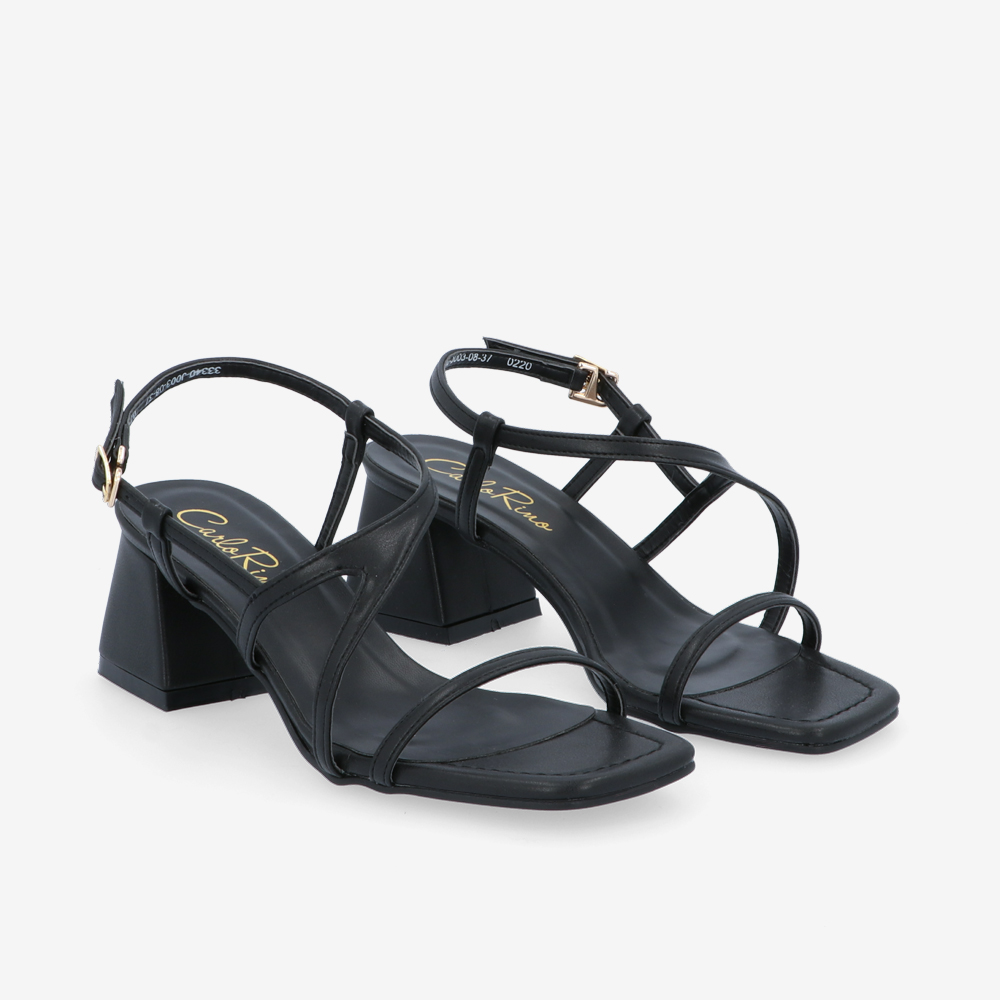 "carlorino shoe 33340 J003 08 1 - 2"" Summer Sidekick Block Heels"