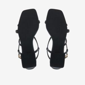 "carlorino shoe 33340 J003 08 5 - 2"" Summer Sidekick Block Heels"