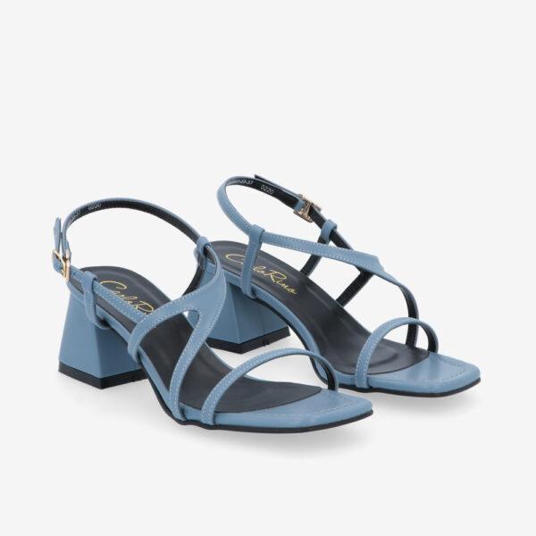 "carlorino shoe 33340 J003 23 1 - 2"" Summer Sidekick Block Heels"