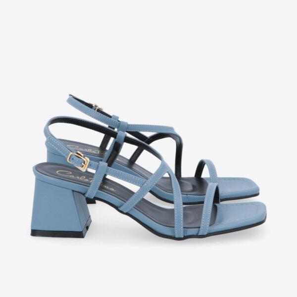 "carlorino shoe 33340 J003 23 2 - 2"" Summer Sidekick Block Heels"