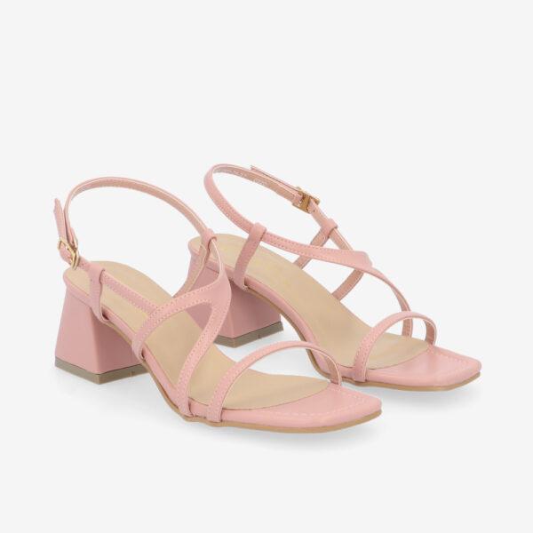 "carlorino shoe 33340 J003 24 1 - 2"" Summer Sidekick Block Heels"