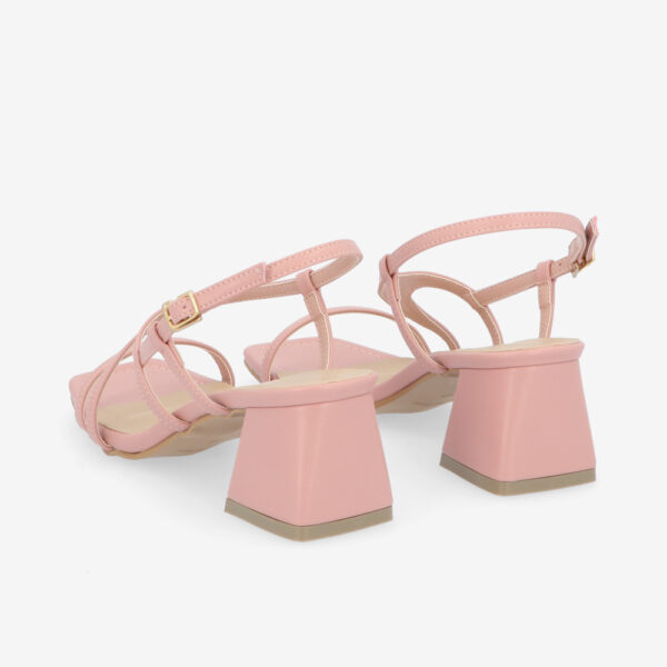 "carlorino shoe 33340 J003 24 4 - 2"" Summer Sidekick Block Heels"